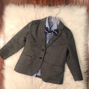 Gray blazer for a boy!
